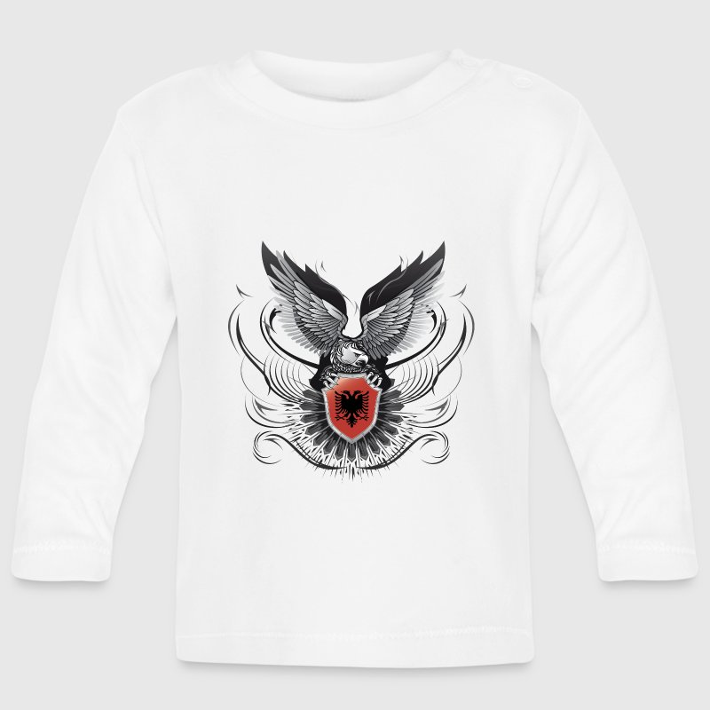 ALBANIAN EAGLE - Baby Long Sleeve T-Shirt