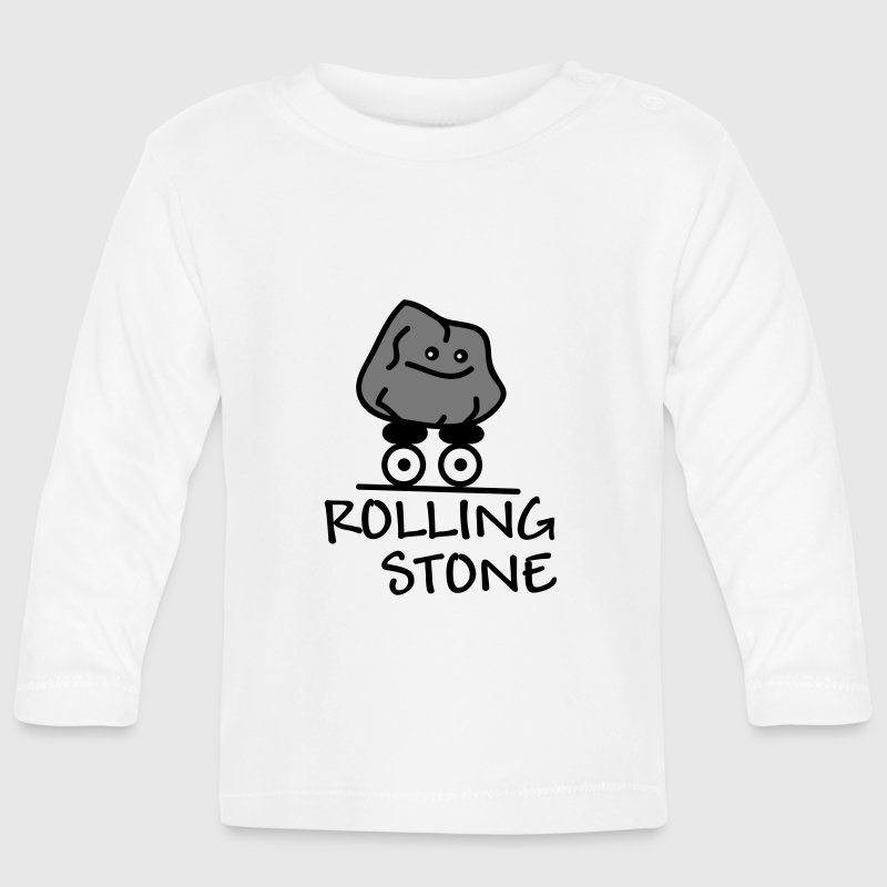 Rolling Stone Baby Long Sleeve Shirts - Baby Long Sleeve T-Shirt