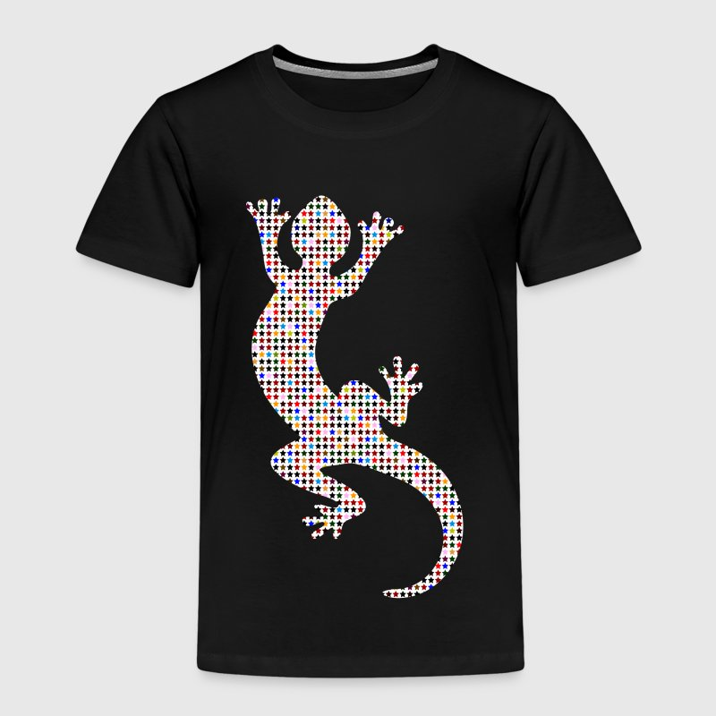 echse gecko lizard sterne t shirt spreadshirt. Black Bedroom Furniture Sets. Home Design Ideas