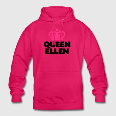 Queen ellen name thing crown - Unisex Hoodie