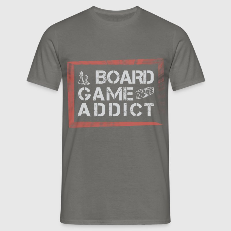 Board games board game addict t shirt spreadshirt for Game t shirts uk