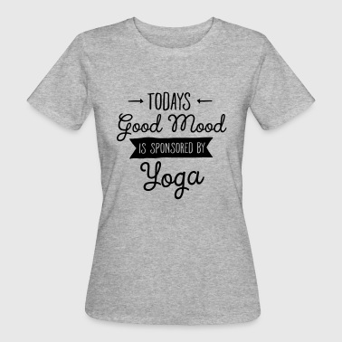 Good Mood Sponsored By Yoga T-Shirts - Women's Organic T-shirt