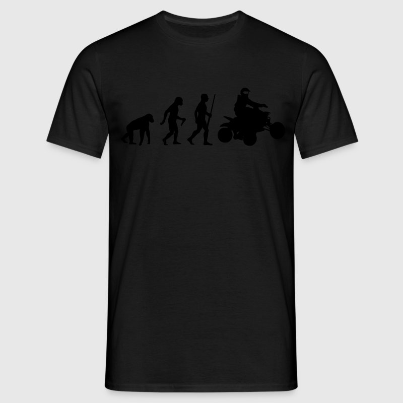 Quad Evolution - Männer T-Shirt