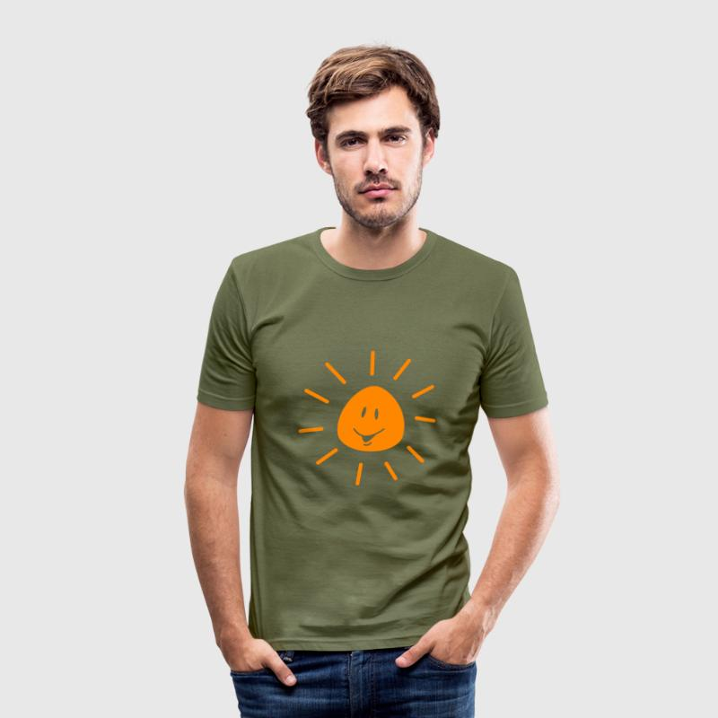 sun - Men's Slim Fit T-Shirt