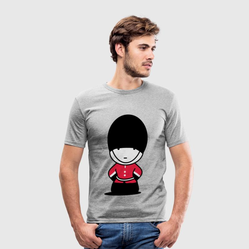 A Royal Guard in London T-Shirts - Men's Slim Fit T-Shirt