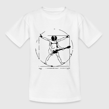 Da Vinci Rock T-Shirt - Teenager T-Shirt