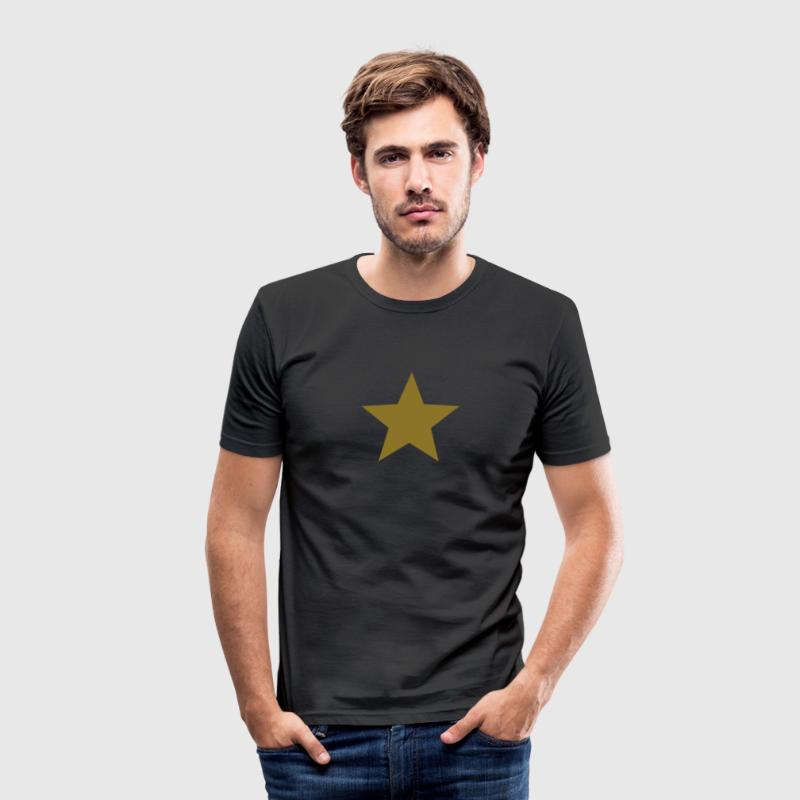 Ster, star, held, super, hero, kampioen, winnaar,  - slim fit T-shirt
