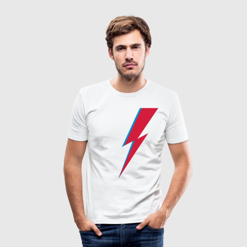 Blitz, Musik, dance, flash, heroes, comic T-shirts - Männer Slim Fit T-Shirt