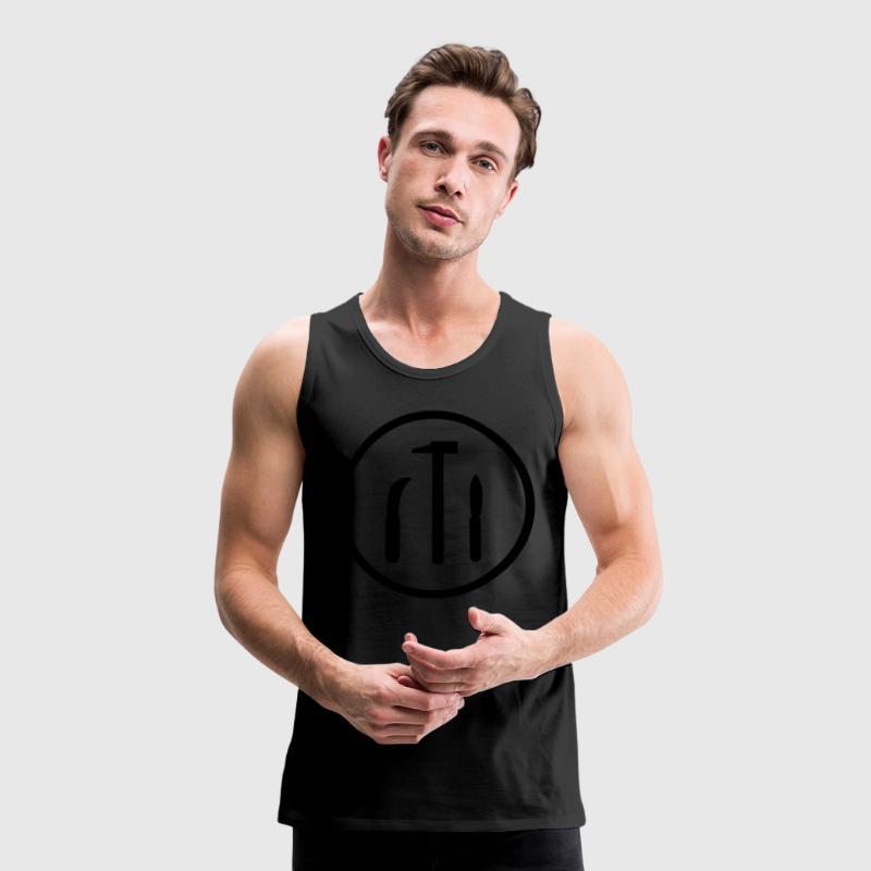 Glaziers T-Shirts - Men's Premium Tank Top