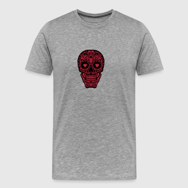 Mexican skull tattoo 1012 Sports wear - Men's Premium T-Shirt