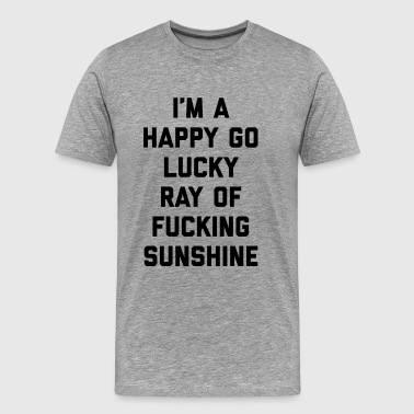 Ray Of Sunshine Funny Quote Sportbekleidung - Männer Premium T-Shirt