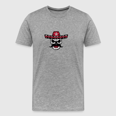 Skull hat Mexican 58 Sports wear - Men's Premium T-Shirt