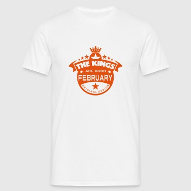 february kings born birth month crown Sports wear - Men's T-Shirt