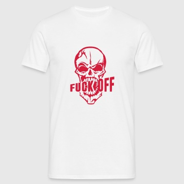 fuck off insulte tete mort citation   Vêtements de sport - T-shirt Homme