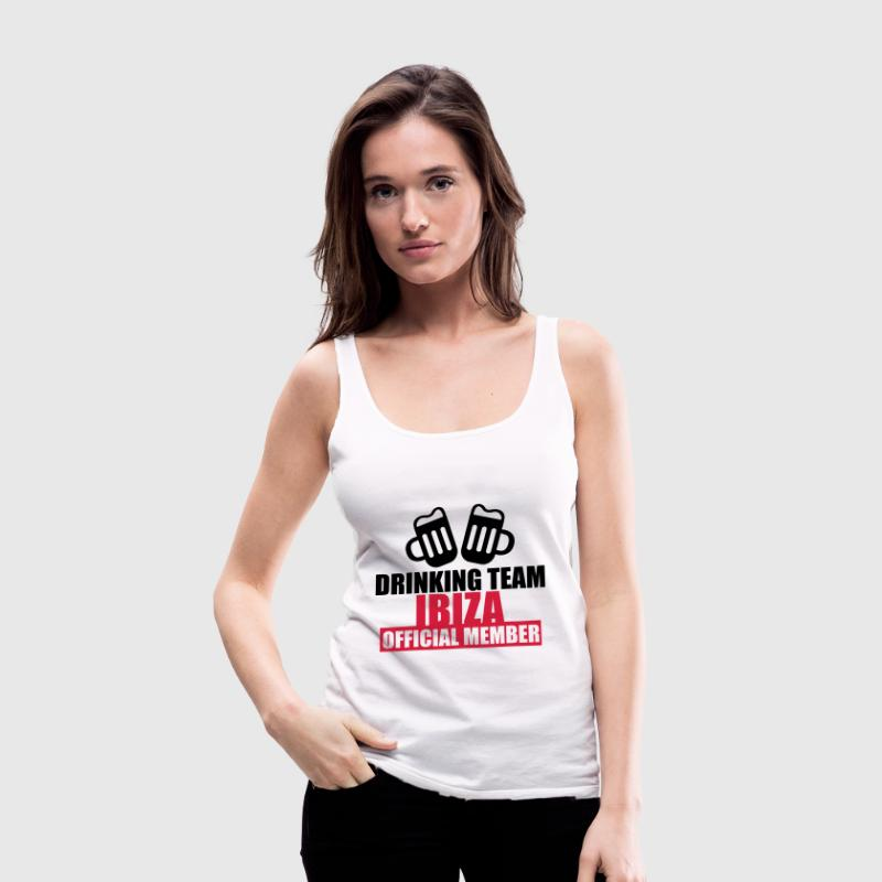 Drinking Team Ibiza Tops - Vrouwen Premium tank top