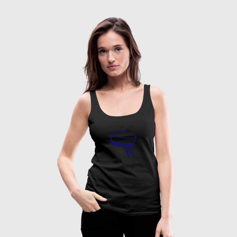 Sailor hat Tops - Women's Premium Tank Top