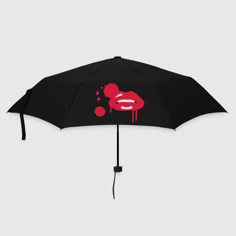 Black vampire Umbrellas - Umbrella (small)