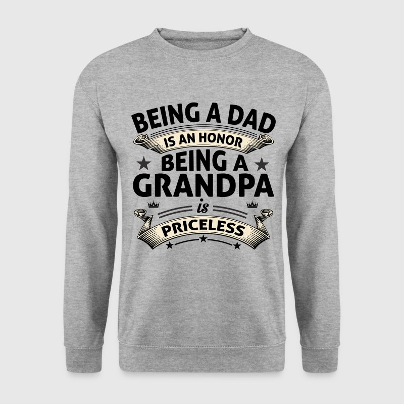 BEING A GRANDPA Hoodies & Sweatshirts - Men's Sweatshirt