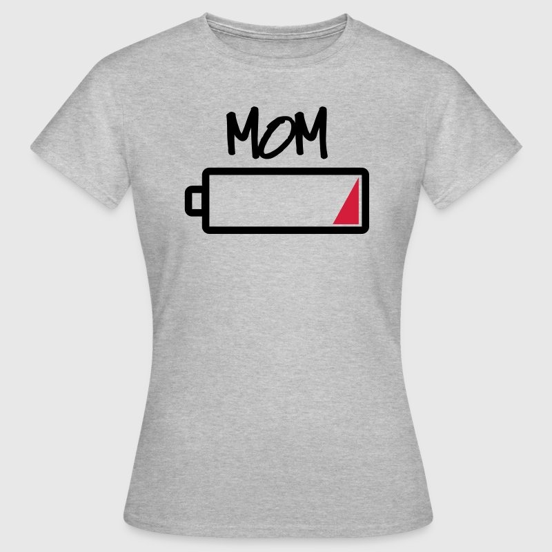 tee shirt mom batterie vide famille mamas batterie vide spreadshirt. Black Bedroom Furniture Sets. Home Design Ideas