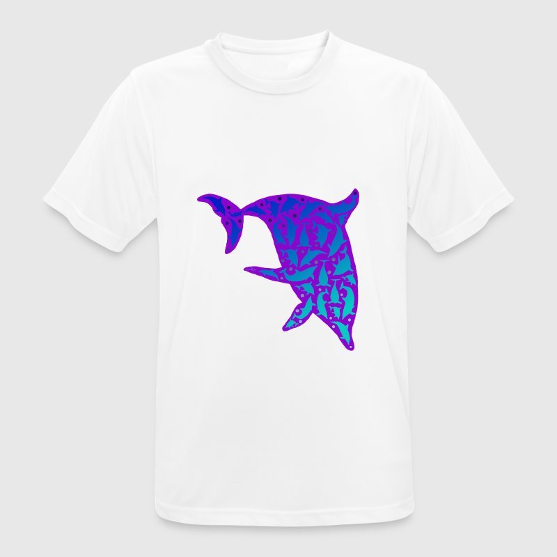 Dolphins in a Dolphin / Delfine im Delfin V2 T-Shirts - Men's Breathable T-Shirt