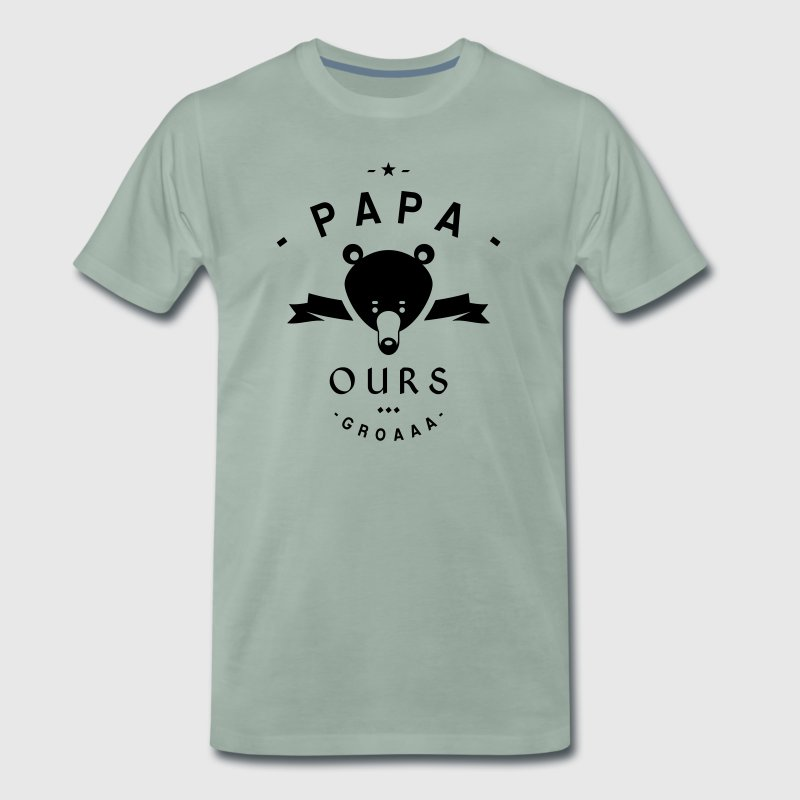 tee shirt papa ours spreadshirt. Black Bedroom Furniture Sets. Home Design Ideas