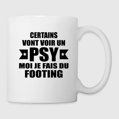 bouteilles et tasses footing commander en ligne spreadshirt. Black Bedroom Furniture Sets. Home Design Ideas