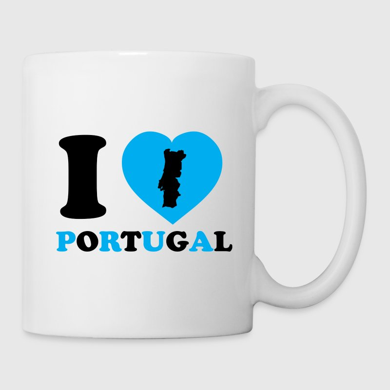 I Love Portugal - Tasse