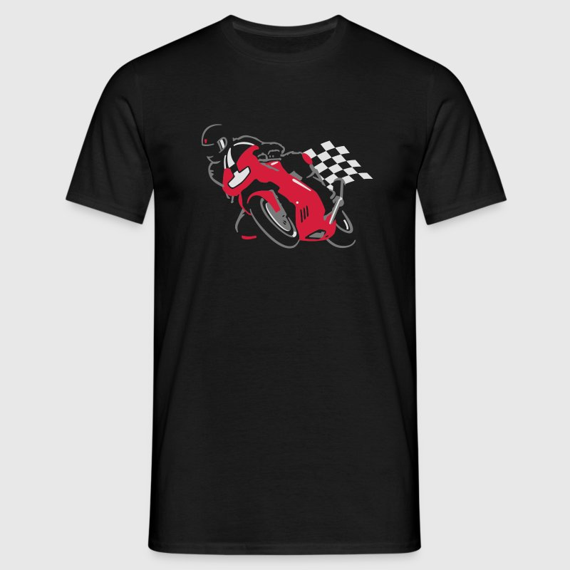 Ducati Supersport red/silver/white - T-shirt herr