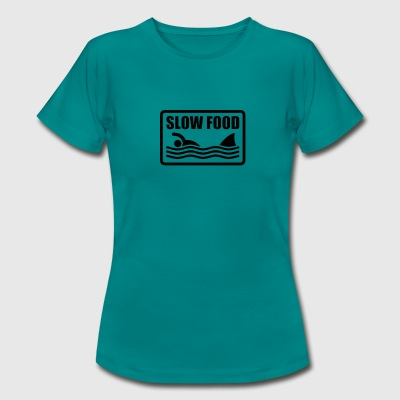 slow food - Vrouwen T-shirt