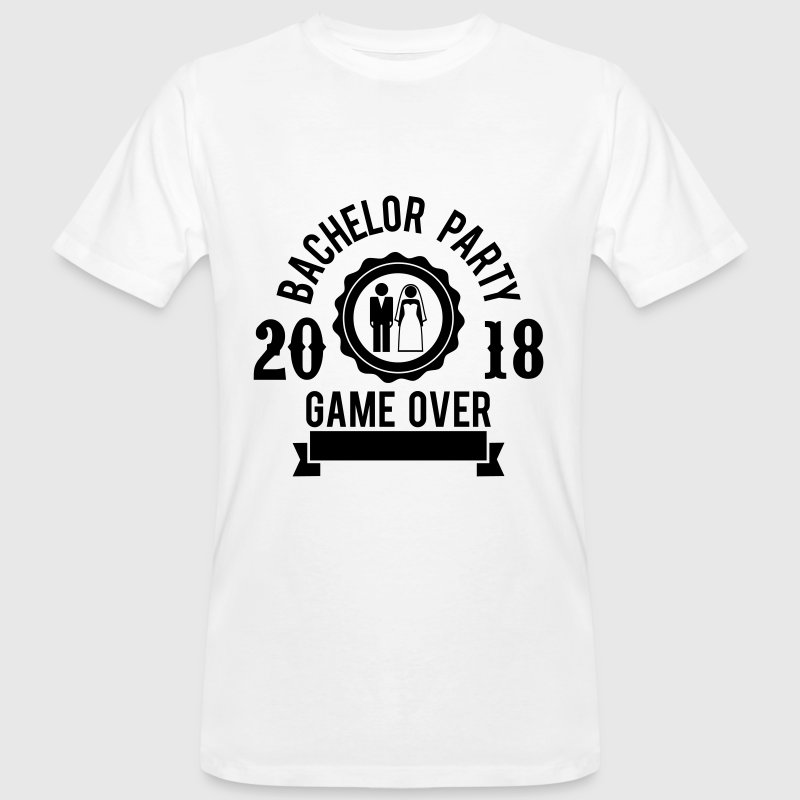 Bachelor party game over 2018 jga hochzeit groom t shirt for Jga t shirt sprüche