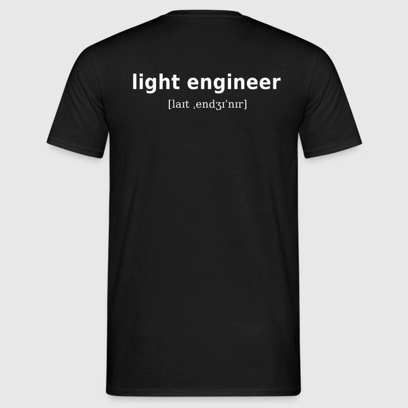 light engineer - hell & dunkel - Männer T-Shirt