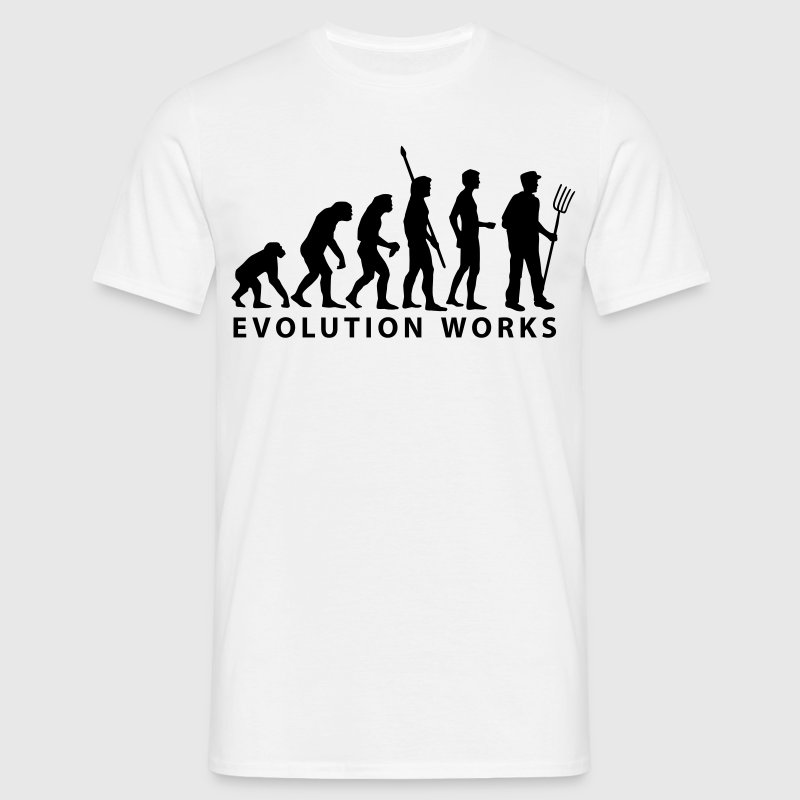 evolution_bauer T-shirts - Herre-T-shirt