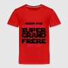 t shirt super héros grand frère,citations,messag - T-shirt Premium Enfant