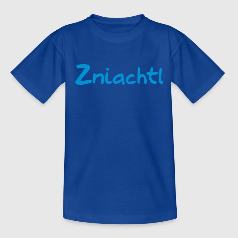 Navy Zniachtl - Österreich Kinder T-Shirts - Teenager T-Shirt