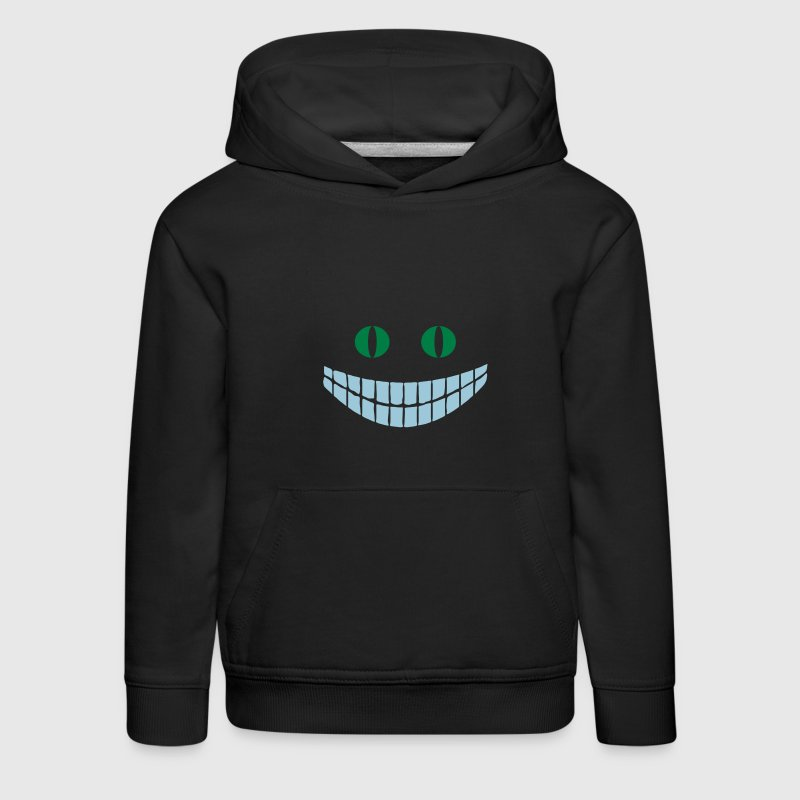 Navy Alice in Wonderland: Cheshire cat (2c) Kinder Pullover - Kinder Premium Hoodie