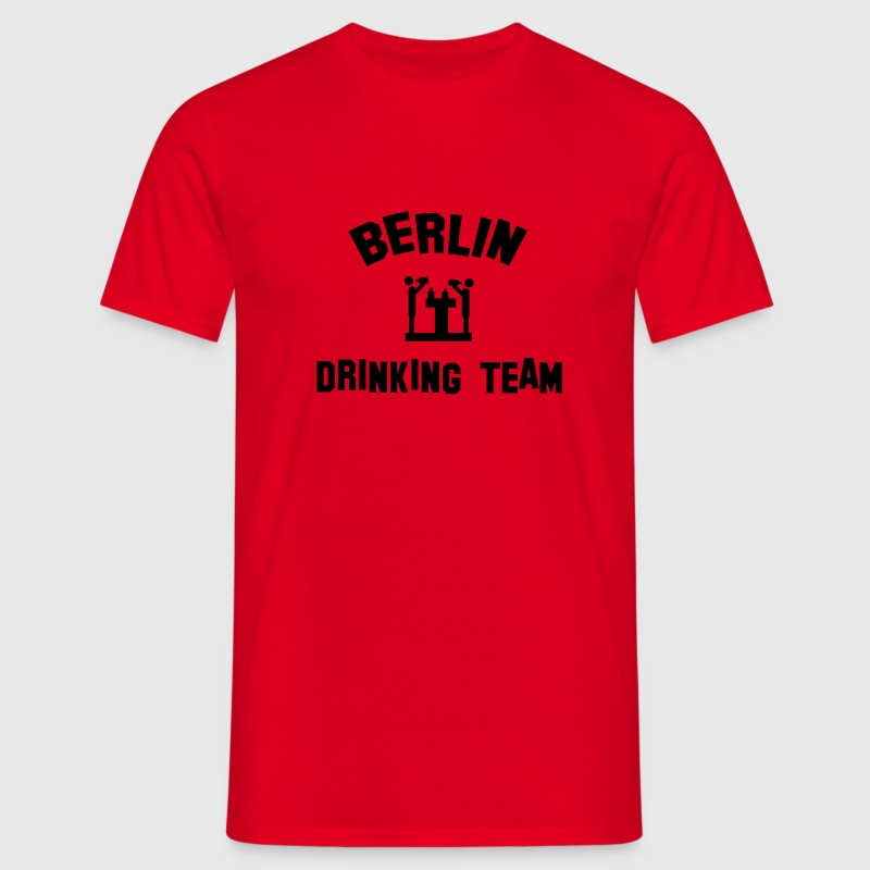 berlin drinking team - Men's T-Shirt