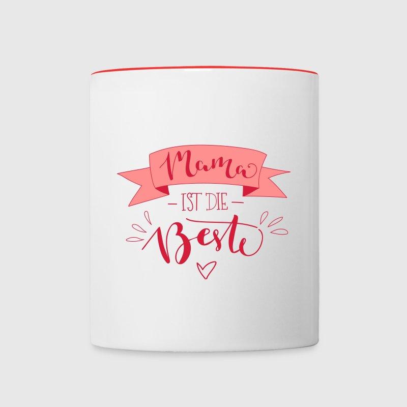mama ist die beste tasse spreadshirt. Black Bedroom Furniture Sets. Home Design Ideas