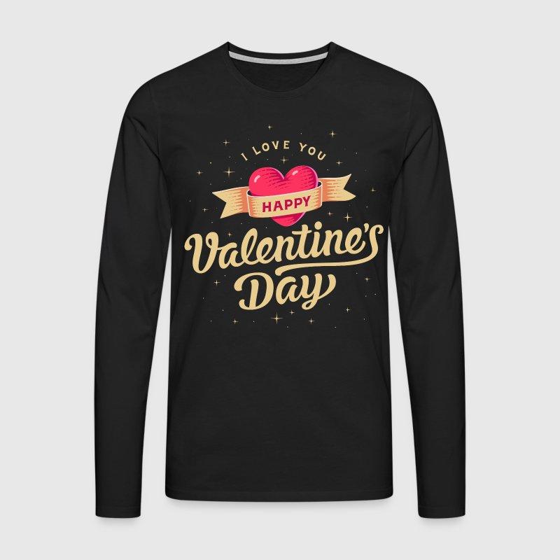 valentinstag geschenk valentine vintage ohne ja langarmshirt spreadshirt. Black Bedroom Furniture Sets. Home Design Ideas
