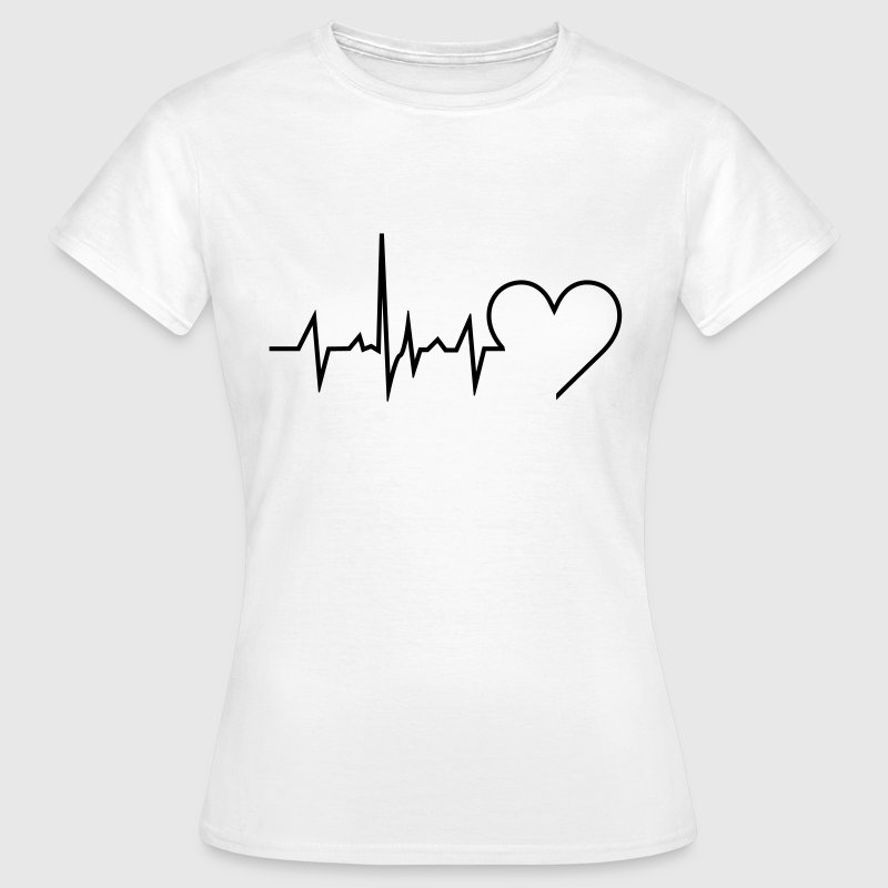Heartbeat - Frauen T-Shirt