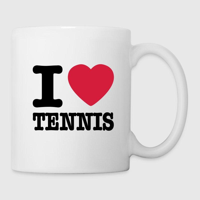 Schoudertas Tennis : I love tennis be nl mok spreadshirt