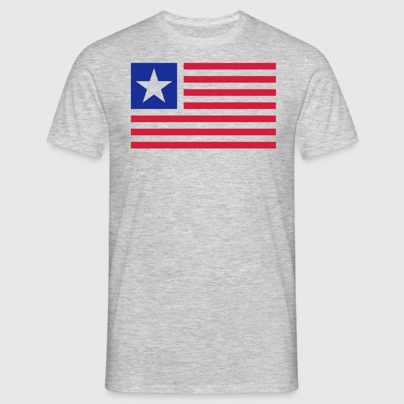 Usa Flagge Flat Design T Shirt Spreadshirt
