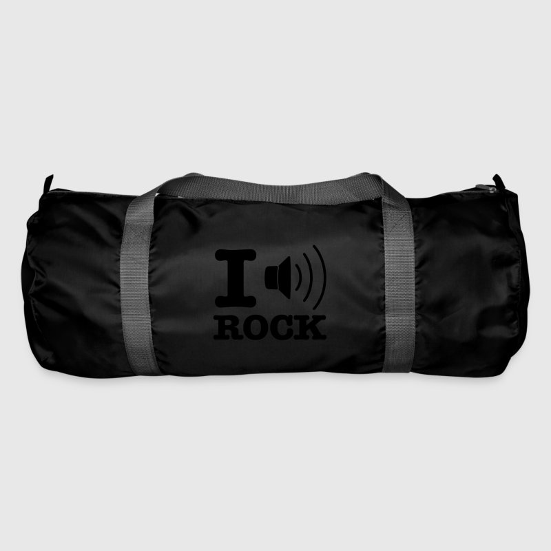 Emerald green i music rock / I love rock Bags  - Duffel Bag