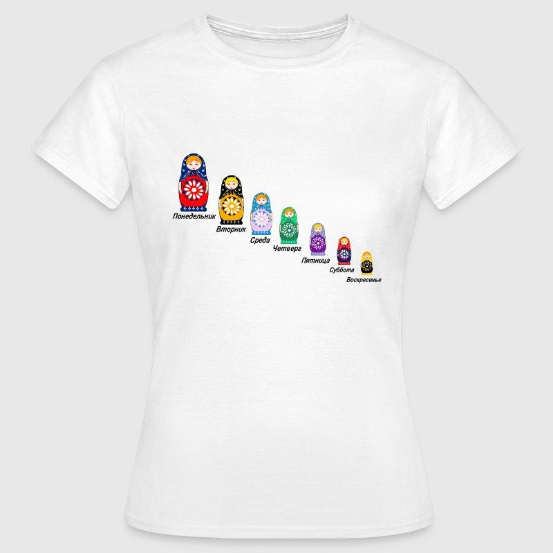 Russian Nesting Dolls - Women's T-Shirt