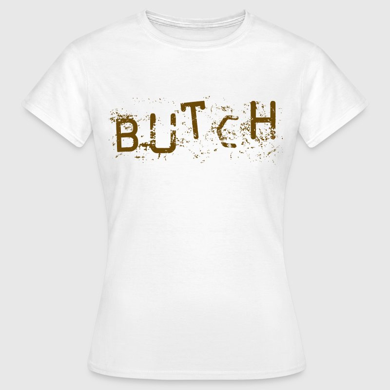 White butch Women's T-Shirts - Women's T-Shirt