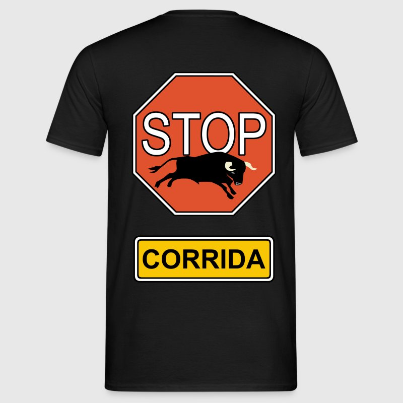 stop bullfighting - Men's T-Shirt