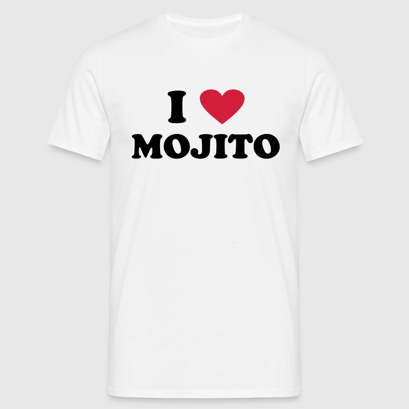 I love Mojito - Men's T-Shirt