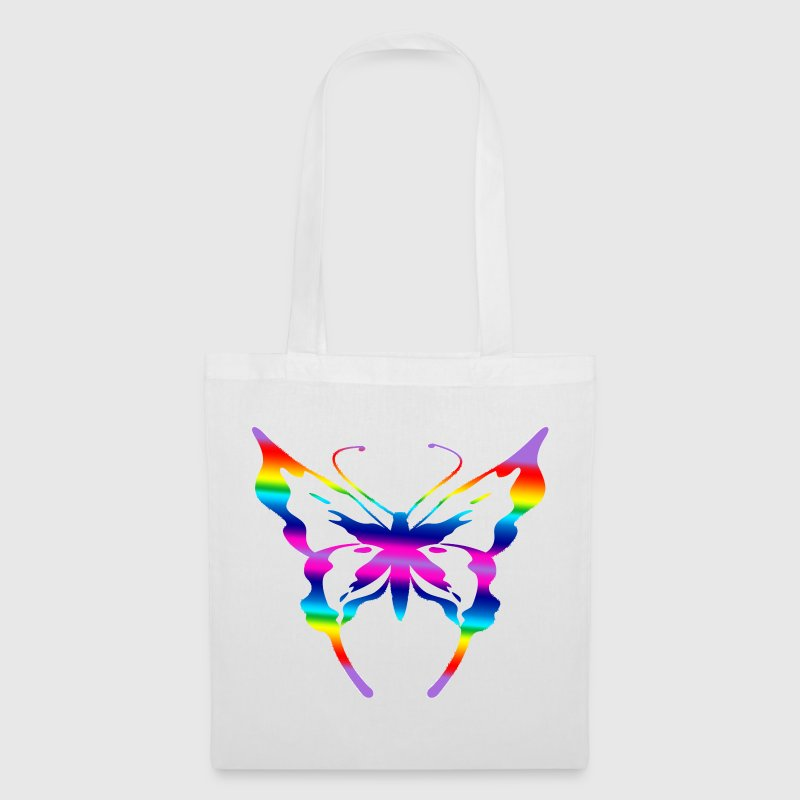 multi coloured butterfly  - Tote Bag