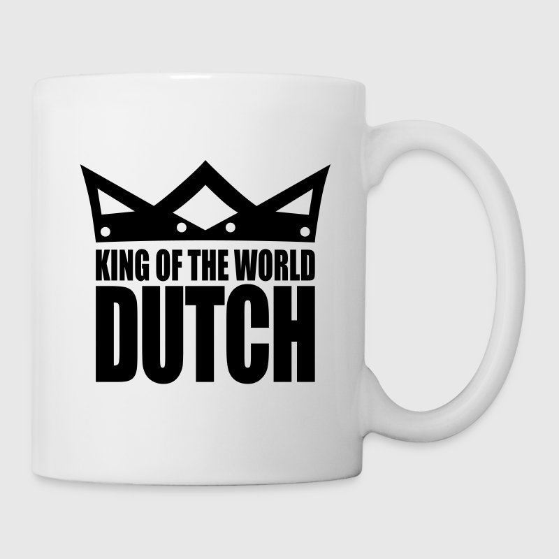 White Dutch king of the world II Mugs  - Mug