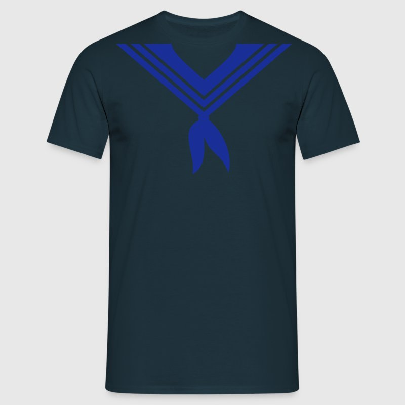 Navy matroos kraag / sailor collar (1c) T-shirts - Mannen T-shirt