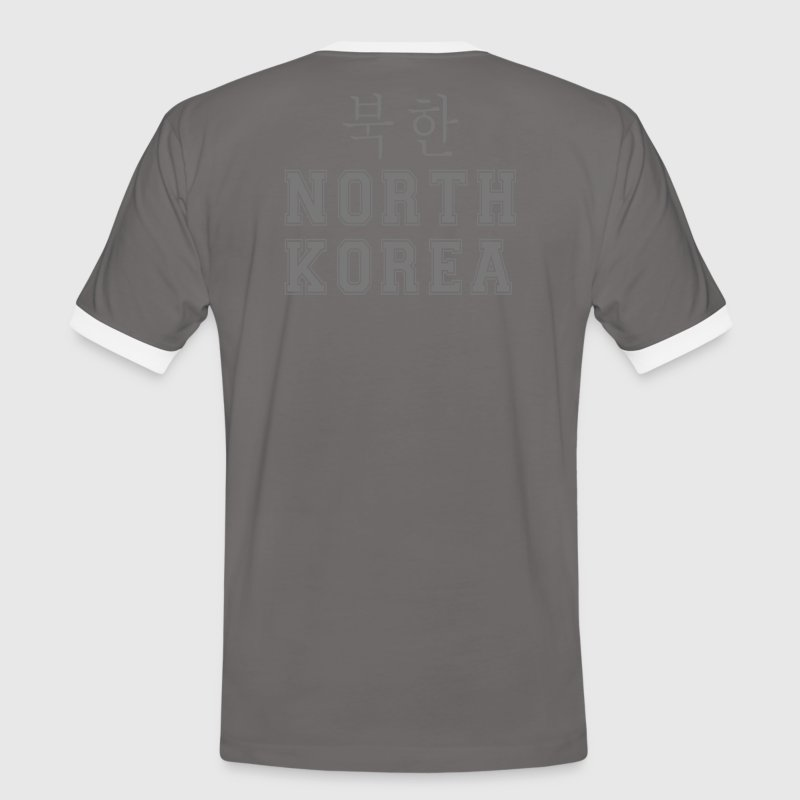T-Shirt FOOT north Korea - T-shirt contraste Homme